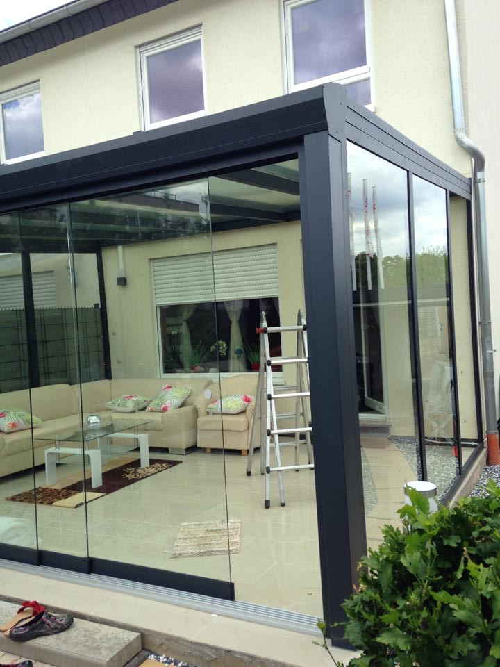 terrassen berda chung carport aluminium glasdach alu terrassendach dachterrasse ebay. Black Bedroom Furniture Sets. Home Design Ideas